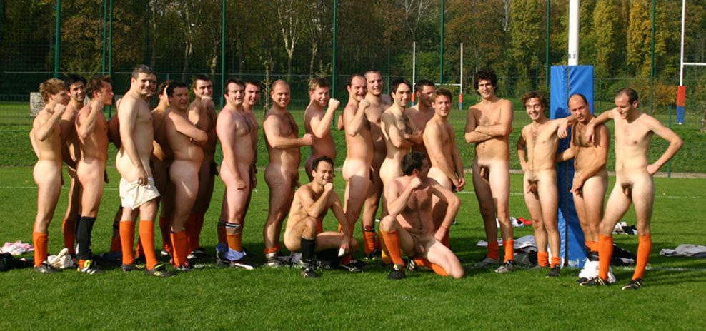 Naked Nogomet nudo goli na prostem - Nudi V Pubblico-4475